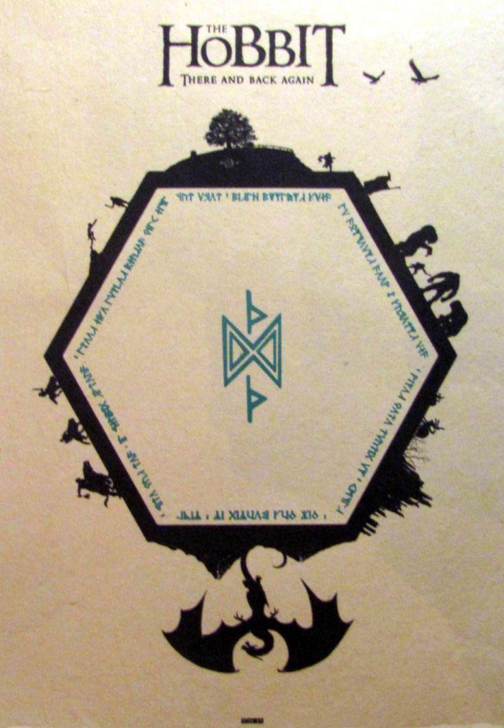 Постер к фильму Хоббит 2 :: Интернет-магазин дизайнерских постеров