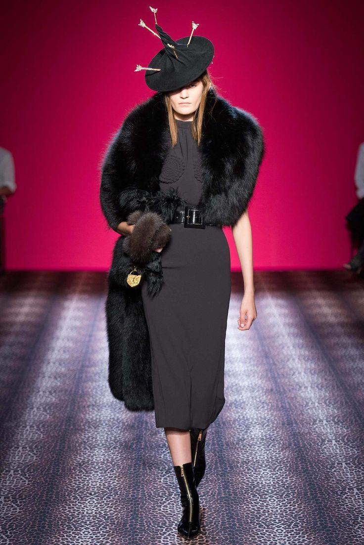 Schiaparelli Fall 2014 Couture Fashion Show - Monika Jablonczky (WOMEN)