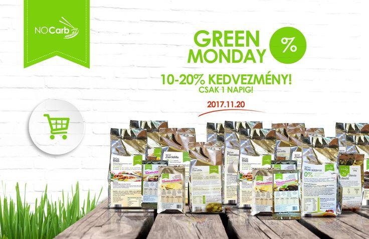 Black Friday, azaz Green Monday 2017.11.20-án, hétfőn! 10-20% kedvezmény csak egy napig!   Klikk a képre a részletekért!