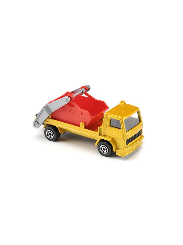 Majorette Extractor Flat - Skip - Truck - Extractor