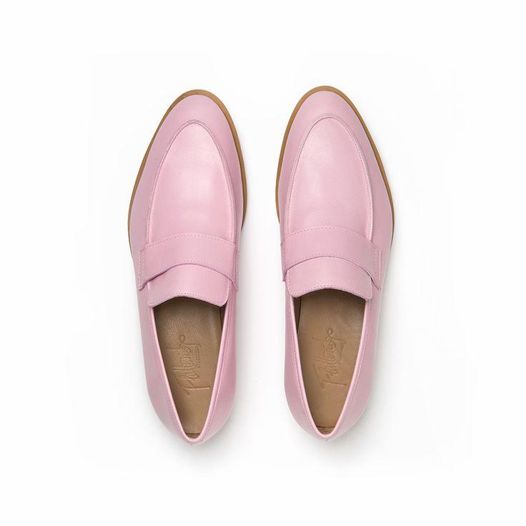 Flattered | Daria - Pink Loafer