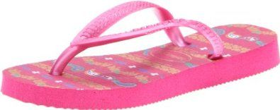 Havaianas Kids Slim Garden Flip Flop (Toddler/Little Kid/Big Kid) Havaianas. $17.00. rubber. Rubber sole. Very chic sandals for girls. Comfortable thong style straps. Fun floral design on insole