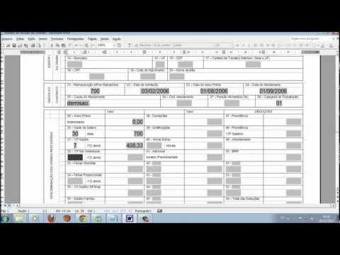 Calculo trabalhista completo 2015 - YouTube