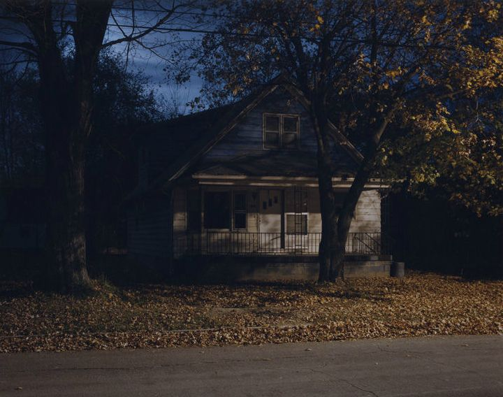 'Homes At Night' - Todd Hido