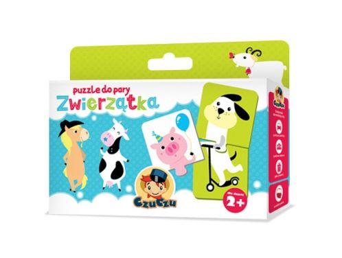 Zabawy Dla Dzieci Puzzle do pary Zwierzątka - Zabawy Dla Dzieci