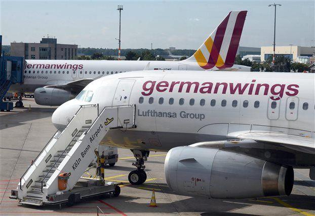 Αεροσκάφος της Germanwings που είχε απογειωθεί από τη Βαρκελώνη με προορισμό το Ντύσε...