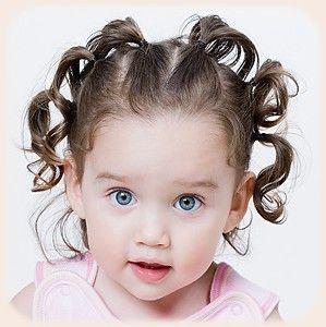Risultati immagini per acconciature capelli corti bimba