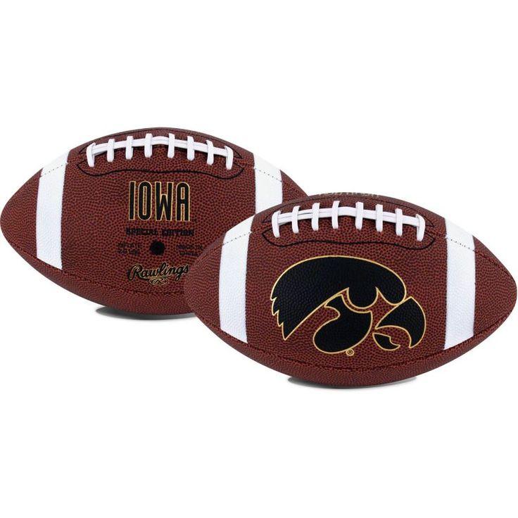 Rawlings Iowa Hawkeyes Game Time Full-Size Football, Team