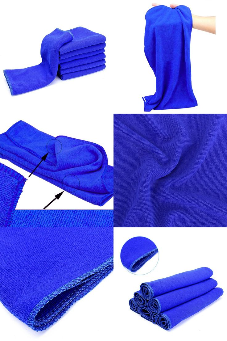 [Visit to Buy] 1pc 70*30cm Microfiber Towel Car Wipe Cloth Cleaning Clothes Wash Cleaner Blue Hot Sale #Advertisement