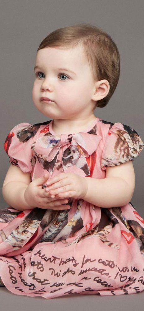 c386c97f6 DOLCE & GABBANA Baby Girls Mini Me Pink Silk Dress Set. #cute #dolcegabbana  #dgbaby #pink #dress #fashion #style #baby #kidsfashion #babyclothes