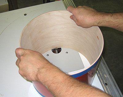 Drum Building Tutorial - Cutting Bearing Edges