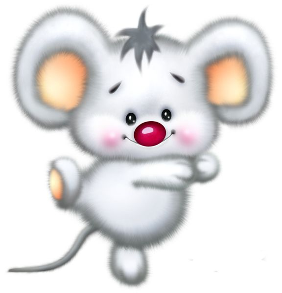 christmas mouse clipart - photo #19