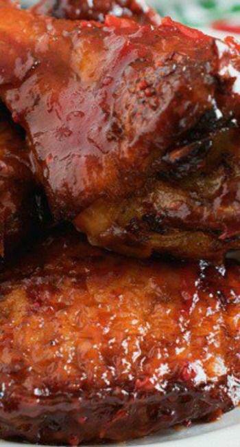 Cranberry Buffalo Wings