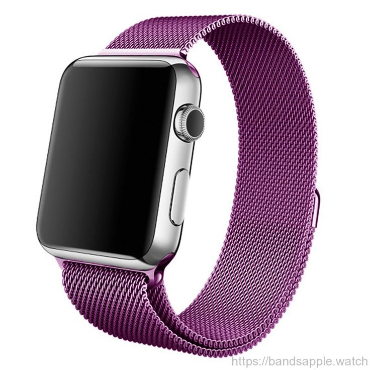Milanese loop for apple watch series 1 2 purple wrist strap stainless steel for iwatch Standard Sport with magnetic clip //Price: $39.82 & FREE Shipping //     #nylon #nato #apple #watch #applewatch #ios #band #watchband #strap #applewatches