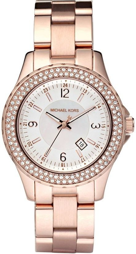 MICHAEL KORS WATCH Madison Rose Crystal Bezel 33mm MK5403 @ Campbell Jewellers http://campbelljewellers.com/michael-kors-madison-rose-crystal-bezel-33mm-watch-mk5403.html