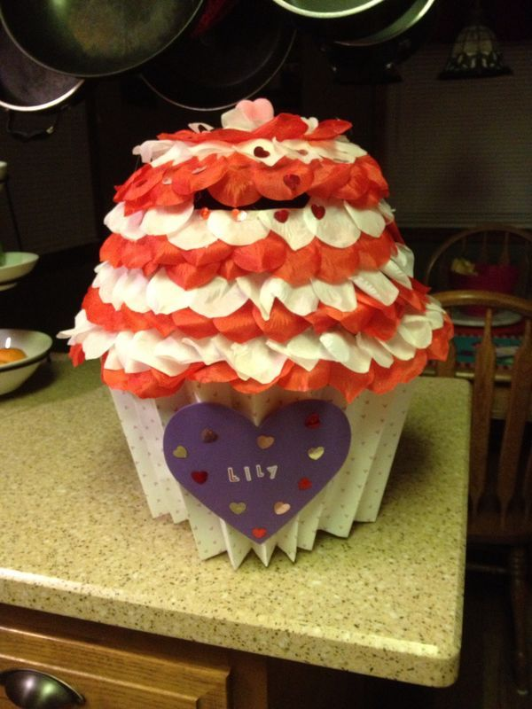 30 best Valentines day box images on Pinterest  Valentine box