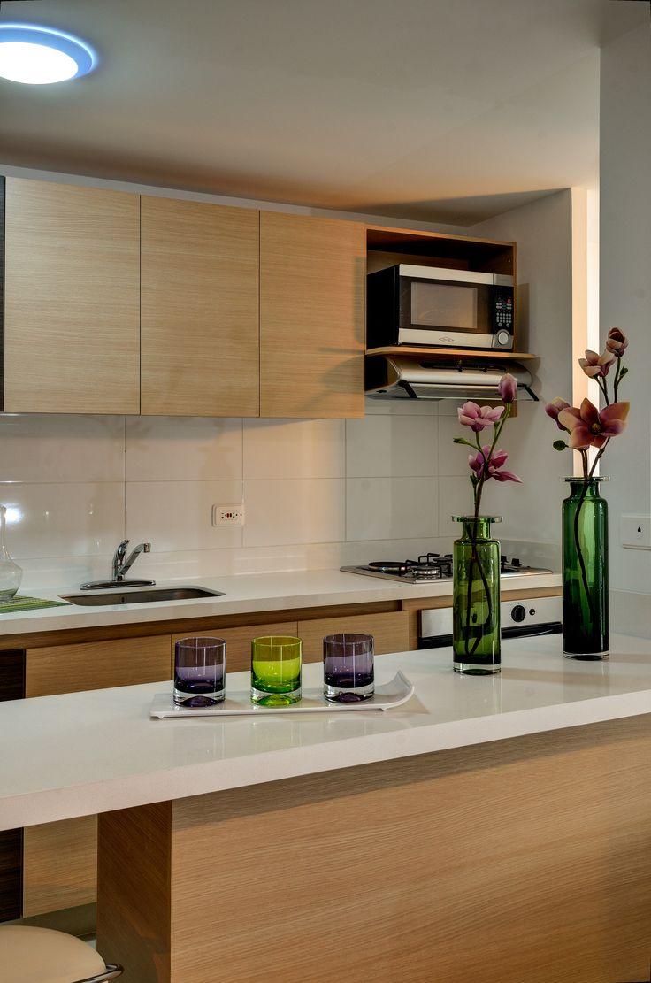 En Las Cocinas Peque As Tambi N Podemos Implementar Algunos  ~ Cocinas Pequeñas Para Apartamentos