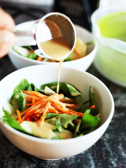 Sesame Ginger Miso Dressing   Savory Sweet Life - Easy Recipes from an Everyday Home Cook