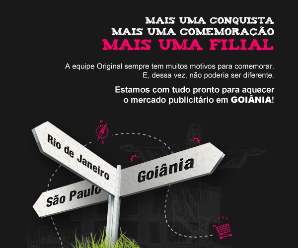 Super boas vindas à equipe de Goiânia. \0/