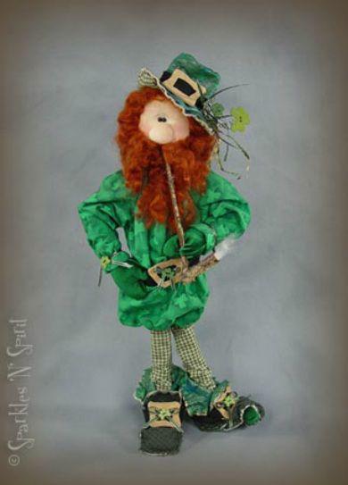Seamus-Leprechaun Doll Pattern from Sparkles n Spirit