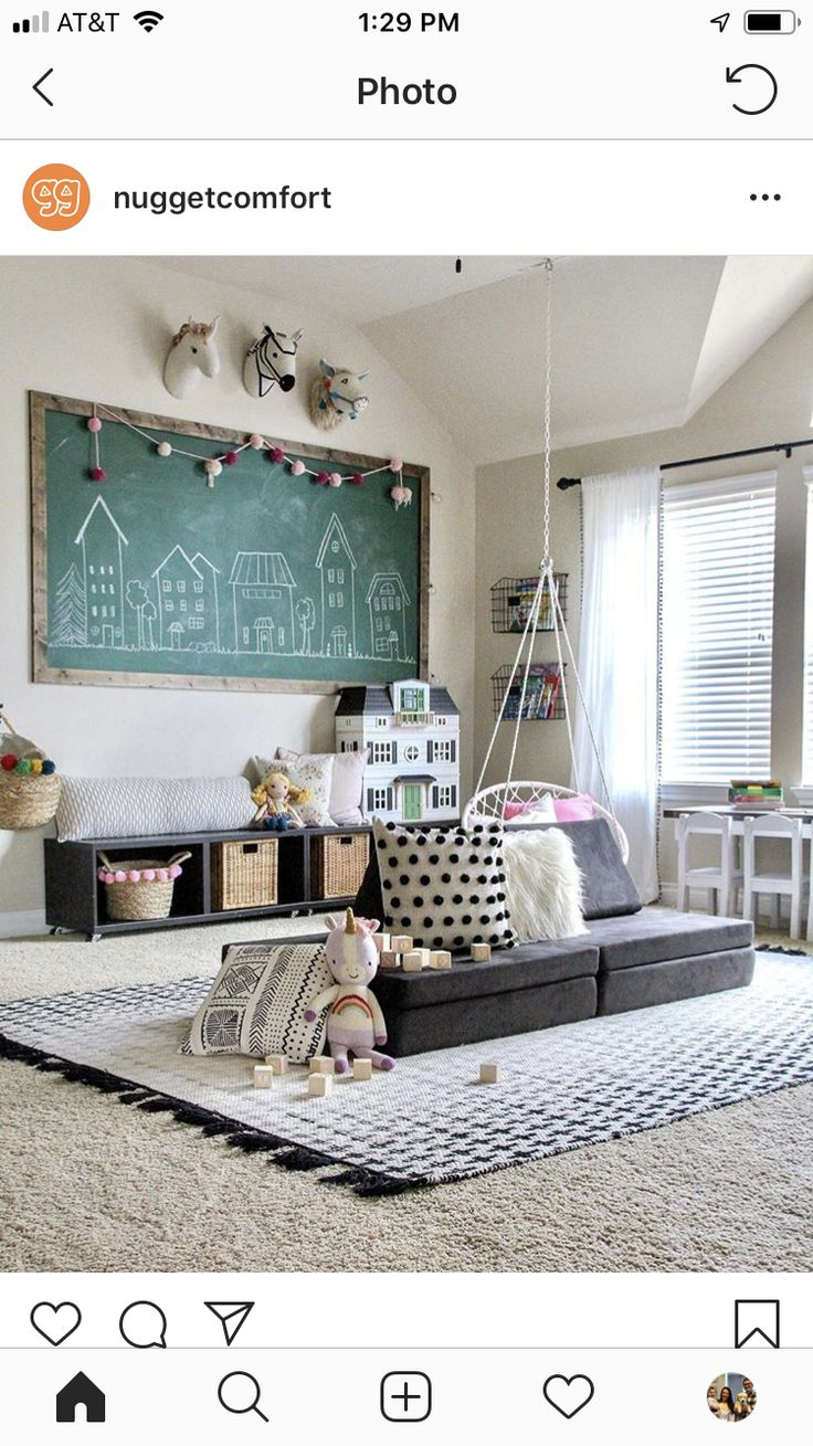 Nugget couch | Kids playroom decor, Kid room decor ...