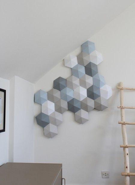 Quand on a une double hauteur, une bonne idée pour accompagner le regard et valoriser l'espace