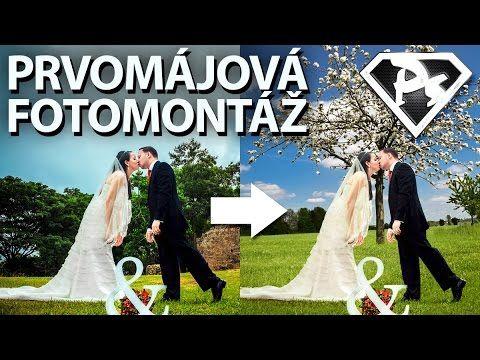 V tomto videu si předvedeme základní fotomontáž. Dohromady budeme slučovat tři různé fotografie. Jedna poslouží jako základ pro pozadí s rozkvetlou třešní, pomocí druhé vyrobíme neexistující trávník, a ze třetí fotky vyřízneme novomanžele | Photoshopové Orgie
