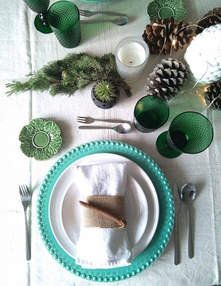 Mesa de Natal por Cátia Marcelino