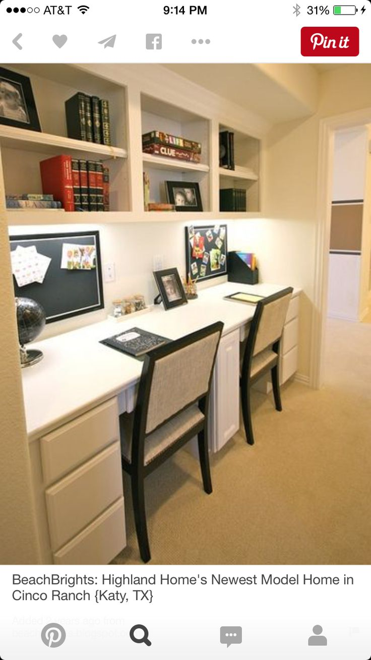 10 best Study images on Pinterest | Work spaces, Home office and Desks