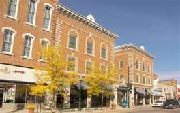 Hotel Winneshiek in Downtown Decorah!! Loved staying there... and seeing the opera stage!