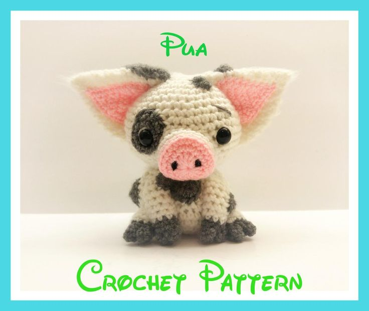 Crochet Pua Pattern From Disney's Moana | Craftsy