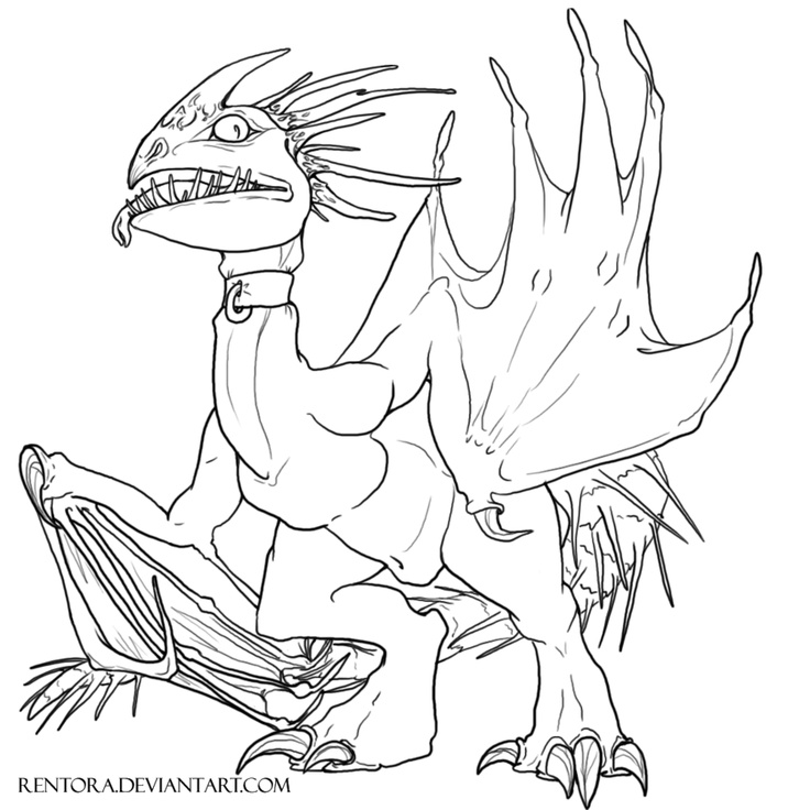 dreamworks dragons 2 coloring pages - photo#18