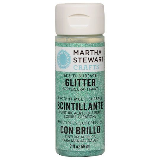 Martha Stewart Crafts® Multi-Surface Glitter Acrylic Craft Paint
