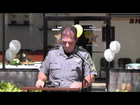 Pasco County Sheriff's Office Substation Grand Opening at The Shops At Wiregrass 2012