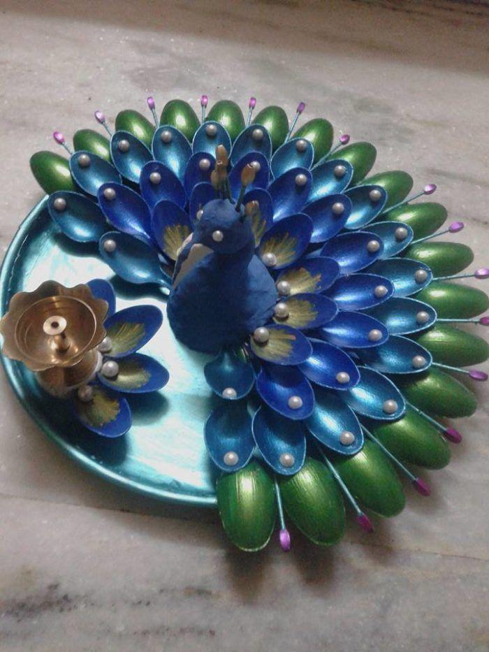 16 Gorgeous Diy Plastic Spoon Crafts
