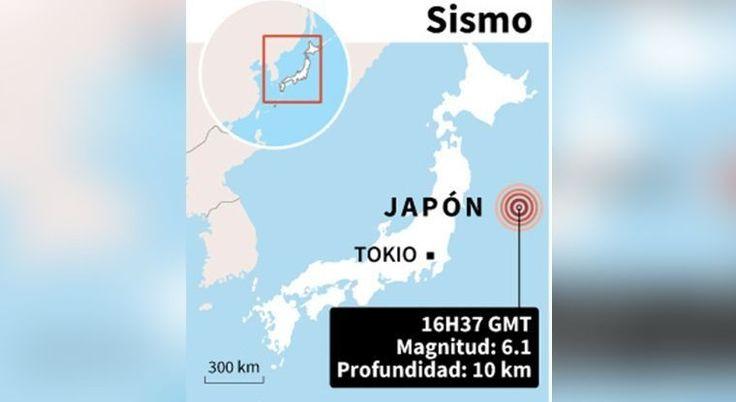 Sismo de 6.1 hace temblar la costa occidental de Japón   El Puntero