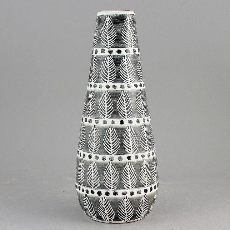 Ingrid Atterberg (Grafika 1951) Striking Cone Vase