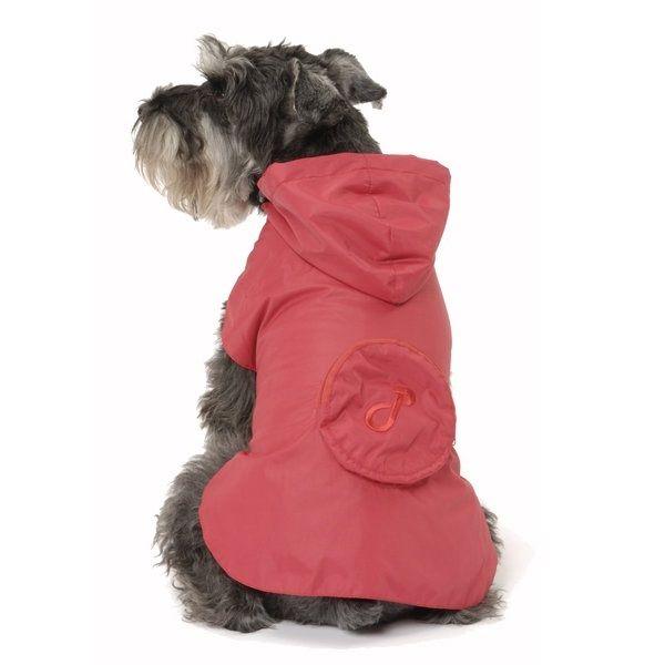 Pac-a-Mac Dog Raincoat in Red £21.99 #dograincoat #dogcoat #dogclothing
