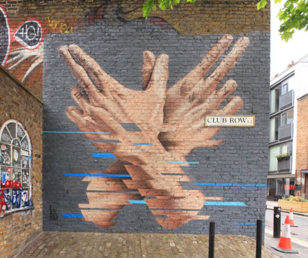 Incredible Wall Murals by James Bullough - UltraLinx