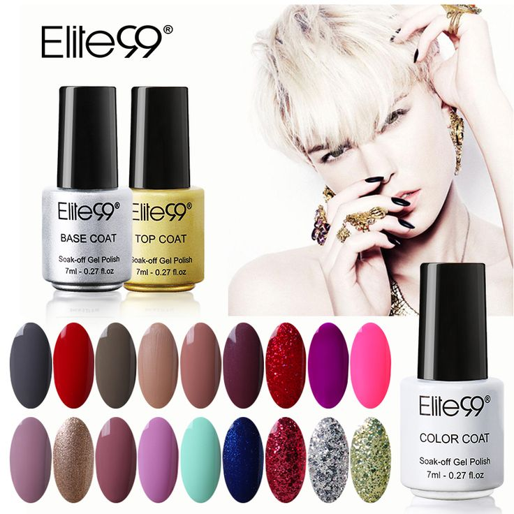 Elite99 7ml Gel Nail Polish Beautiful Colors     Tag a friend who would love this!     FREE Shipping Worldwide     Buy one here---> https://gr8xpress.com/elite99-7ml-gel-nail-polish-beautiful-colors/