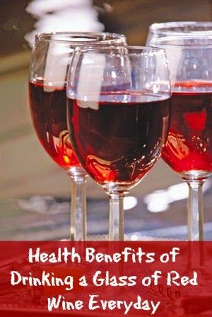 Health Benefits of Drinking a Glass of Red Wine Everyday....or so I tell myself :) :)
