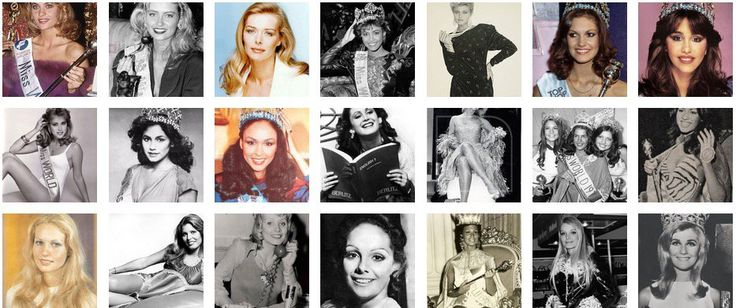 50 Most Beautiful Women from 1951 to 2000