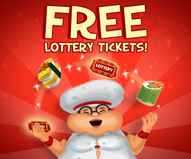 ☆ ★  Happy International Sushi Day  ☆ ★  Our Master chef Ben is giving away 10 FREE Lottery Tickets to all players to celebrate International Sushi Day! Use your free tickets at the Krack Stand to see what prizes you can win from the scratch cards!  Claim now and get lucky -> https://apps.facebook.com/kashkarnival/?promo=046