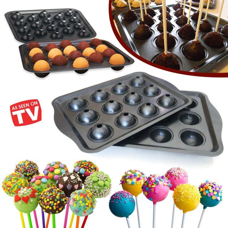 Lolipop Kek Pişirme Kalıbı ::