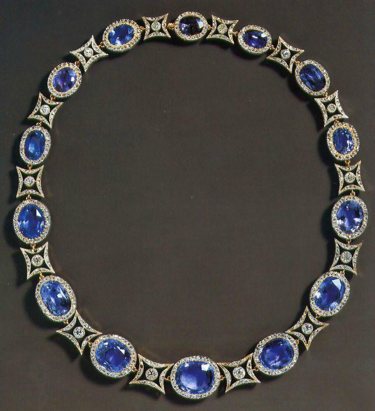 Princess Alice of Battenberg's gem-set necklace by Fabergé, - Alain.R.Truong