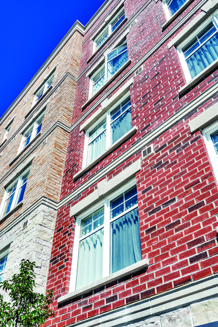 JP Series, Old Chicago | Clay Brick Commercial Application