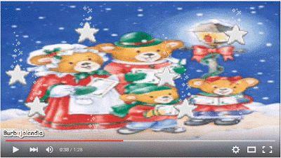 Burbujolandia: Video Ositos en Navidad