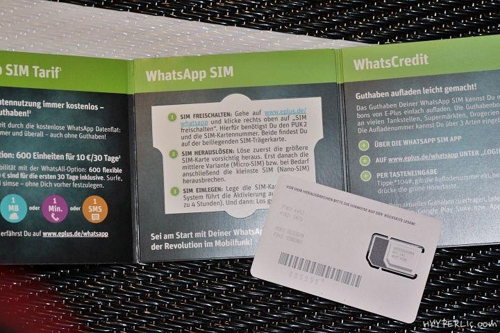 Wir haben die WhatsApp SIM Karte by e-plus getestet und sind in einer reinen Service-Wüste gelandet. Aber zum Ende hin können wir nun immerhin 6 Monate kostenlos WhatsApp'en.