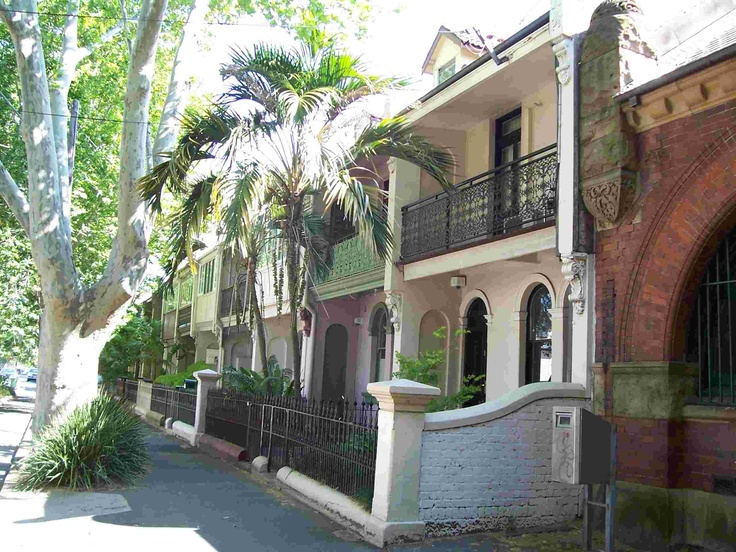 terrace homes in surry hills, sydney