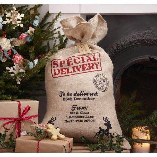 Weihnachtsgeschenke Sack